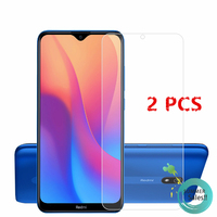 2Pcs For Xiaomi Redmi 8A Glass For Redmi 8A Tempered Glass Film HD Phone Screen Protector Protective Glass for Xiaomi Redmi 8A