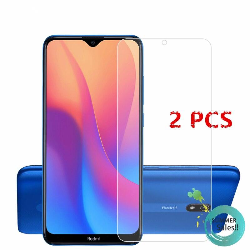2Pcs For Xiaomi Redmi 8A Glass For Redmi 8A Tempered Glass Film HD Phone Screen Protector Protective Glass For Xiaomi Redmi 8A