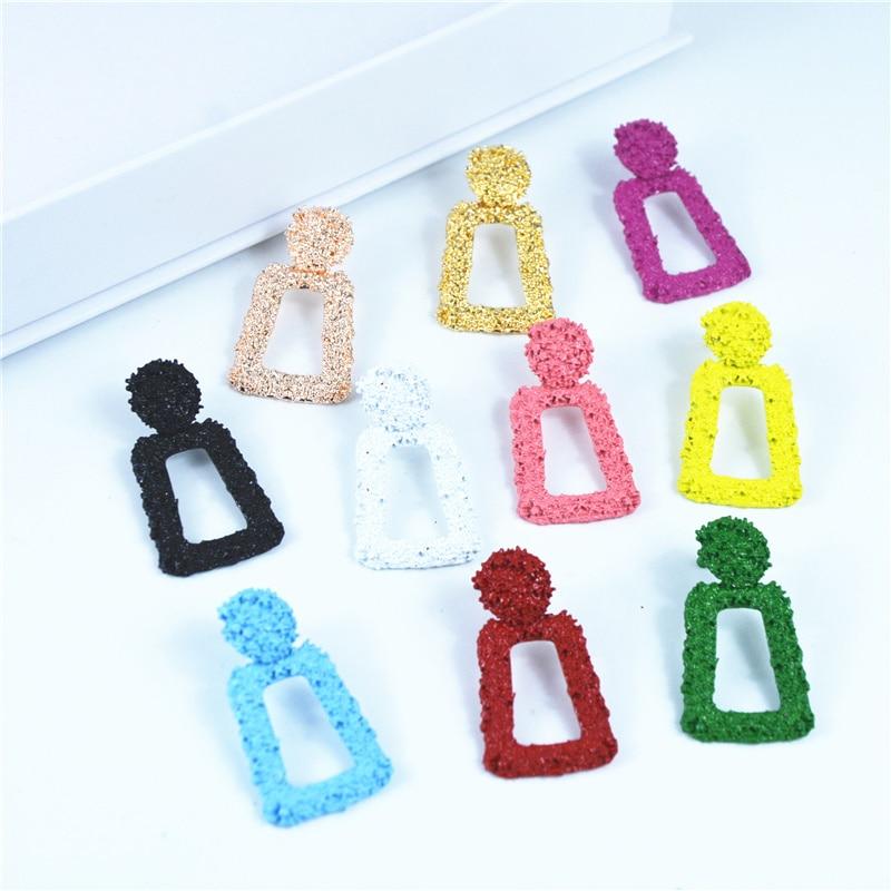 ZCHLGR Fashion Statement small Earrings Geometric earrings For Women Hanging Dangle Earrings Drop Earing modern Jewelry