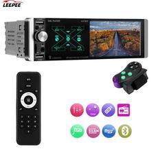 In-dash HD Multimedia Player Bluetooth 1 Din Car FM Radio Player 4.1'' Car MP5 Video