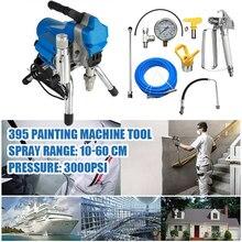 цена на New Airless Spray Machine High Pressure Airless Spray Gun Electric Paint Sprayer 395 Painting Machine Tool