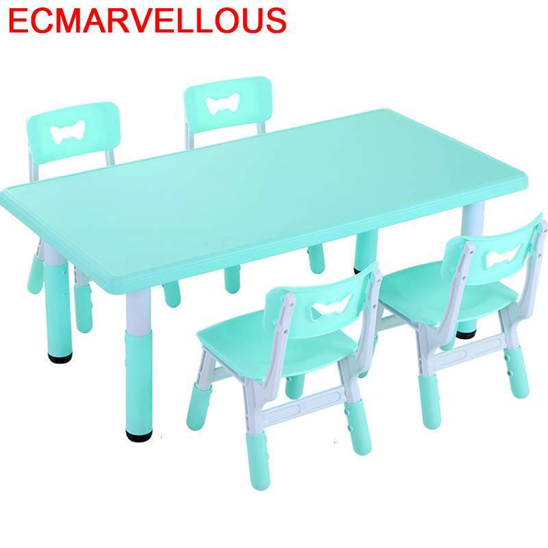 Infantil And Chair Mesa De Estudio Tavolo Per Scrivania Bambini Kindergarten Kinder Study For Kids Bureau Enfant Children Table