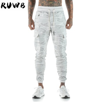 Autumn Winter Men's Gym Training Jogging Pants Men Joggers Fit Soccer Sweatpants Camo Workout Running Tights Sport Trousers vb running pants men with pockets football soccer training gym pants jogging fitness workout sport trousers