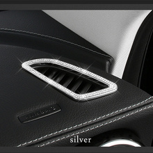 Instrument outlet strip For Mercedes w205 amg/ interior trim c63 mercedes c class accessories glc x253 /amg coupe