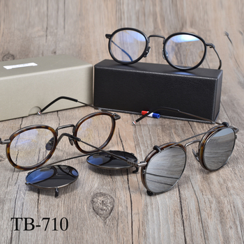 Tom brand Eyeglasses frames men women TB710  optiacl eye glasses clip sunglasses men women with original box brand new in original box philips gc5033 80 azur elite steam iron with optimaltemp technology original brand new