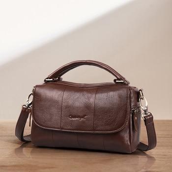 цена на Cobbler Legend Designer Genuine Leather Women Handbag Fashion Original Shoulder Bag Crossbody Vintage Handmade Luxury Brand Bag