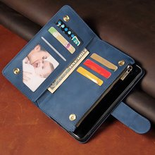 Luxury Leather Wallet For Nokia 5.3 Zipper Case For Nokia 1.3 Case Magnetic Flip Wallet Card Stand Cover Mobile Painted leather stylish zipper and magnetic closure design wallet for women