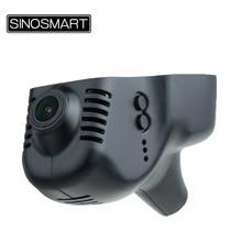 SINOSMART Novatek 96672 Car Wifi DVRสำหรับVolkswagen Polo/Passat/Touran/Tiguan/Bora/ทอง/magotanควบคุมโดยApp SONY IMX323