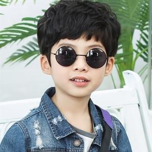 ET555 Vintage Kids fashion children Sunglasses Boys Girls baby luxury brand Sun Glasses lentes de sol hombre/mujer UV400 Eyewear(China)