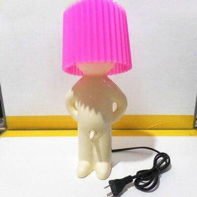 Modern Cartoon Glasses Shy Boy Night Light for Children Baby Kids Room Led  Night Lamp Christmas Gift Bedside Decor Luminaire