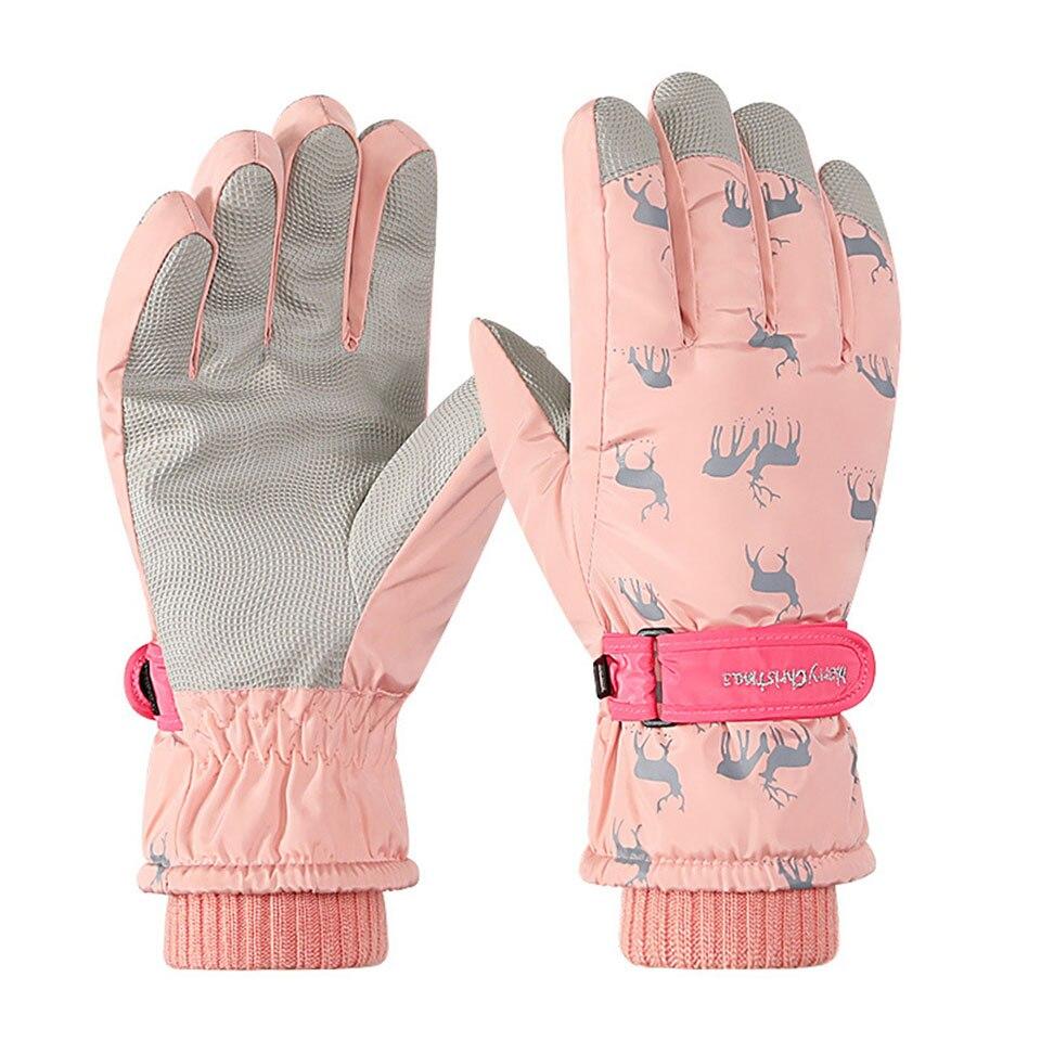 Лыжные перчатки для мужчин и женщин, зимние лыжные перчатки, перчатки для сноуборда, ультралегкие Водонепроницаемые зимние перчатки для сн...