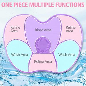 Image 5 - Silicone Makeup Brush Cleaning Pad Mat Brush Washing Tools Cosmetic Eyebrow Brushes Cleaner Tool Scrubber Board Makeup Cleaning