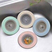 Кухонная раковина сливные пробки ситечки кухонный аксессуар из силикона канализационный фильтр для волос собирает сливное отверстие для ванны пробка для раковины сливная пробка для пола