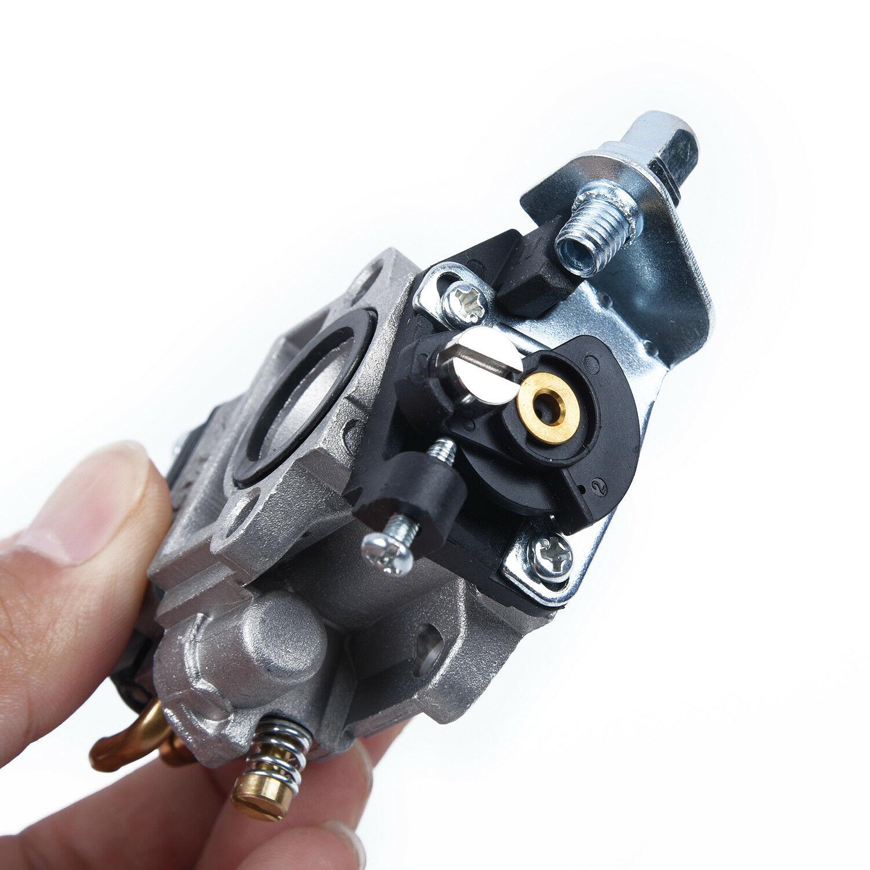Carburetor For POPE 101PBV26 Blower Vac Robin NB253 Brushcutter Fuel Line Filter