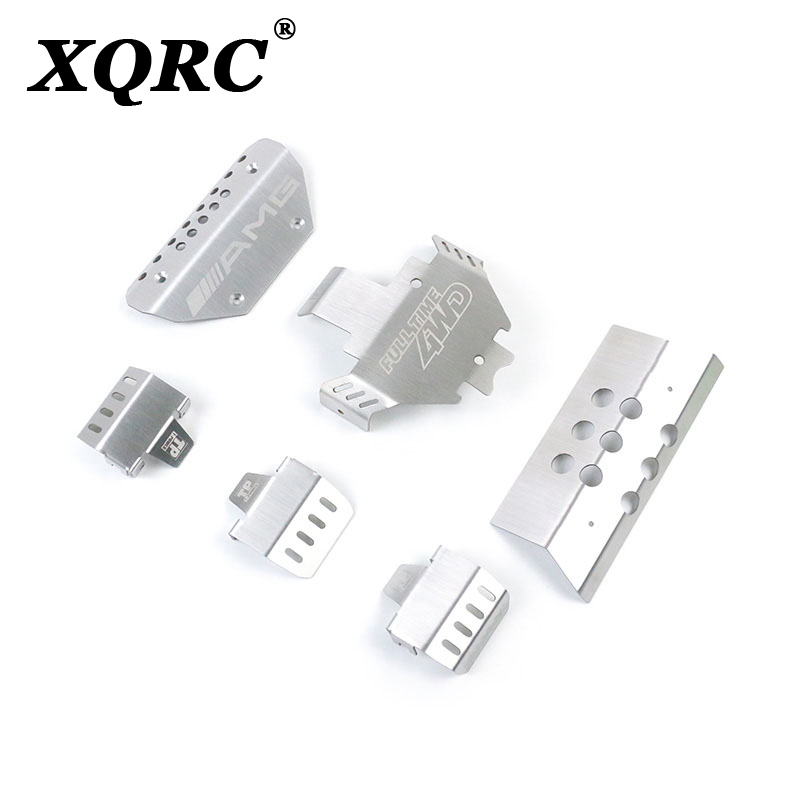 XQRC Trx6 Large G Benz Chassis Stainless Steel Armor Plate Used In Trx6 Remote Control Model Car
