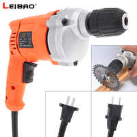 220V 710W High Power Handheld Impact Electric Drill with Rotation Adjustment Switch and 10mm Drill Chuck for Handling Screws