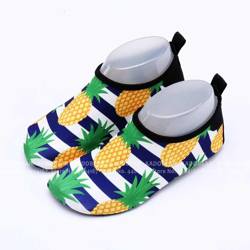 Летняя детская пляжная водонепроницаемая обувь для маленьких мальчиков с героями мультфильмов; спортивные сандалии для серфинга; Детская уличная обувь для плавания; тапочки унисекс
