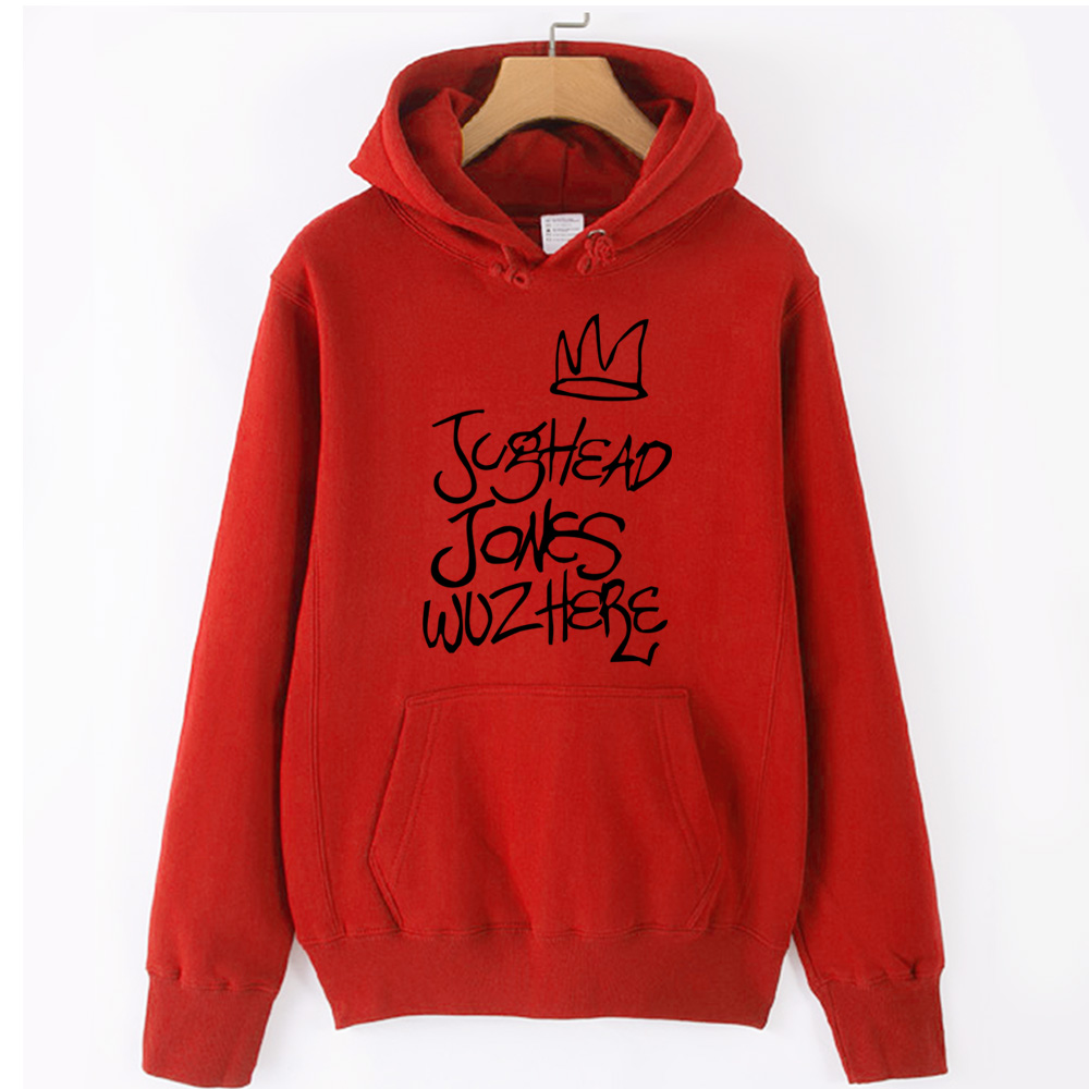 Jughead Jones Crown South Side Serpents Riverdale Girl Woman Hoodie Autumn Winter Fleece Couple Clothes ZIIART 14