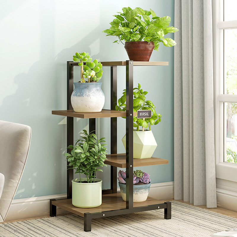 Metal Plant Stand 4/6 Layers Flower Rack Household Balcony Shelf Living Room Flower Pot Stand Indoor Stand Planter Plant Shelf|Plant Shelves ...