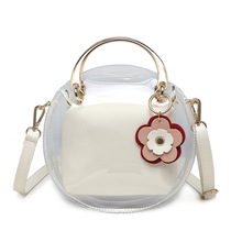 summer hipster shoulder bags 2020 popular handbag new fashion casual messenger wild girl clutch small bag lady candy color pouch Spring and summer transparent small bags trend new personality wild handbag shoulder messenger candy female bag small round bag