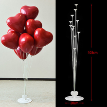 103cm Height Table Balloon Stand Kit for Birthday Party Decorations Stick Wedding Baby Shower Anniversary Any Accessories Christmas Supplies