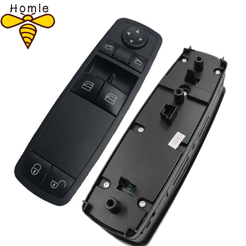 Free Shipping! High Quality 1698206410 Master Window Control Switch For <font><b>Mercedes</b></font> Benz <font><b>W169</b></font> <font><b>A170</b></font> A200 2005-2009 A1698206410 image