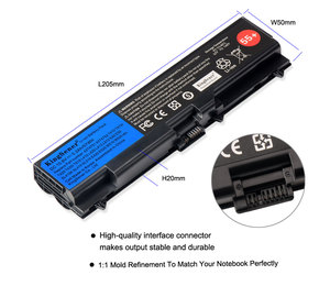 Image 4 - KingSener Laptop battery for ThinkPad L512 L412 L520 E425 E520 E525 W520 T410 T420 T510 T520 42T4751 42T4752 42T4885 42T4886 55+
