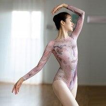 Leotardo de gimnasia de hadas para adultos, Mono de patinaje sobre hielo, tutú de Ballet profesional, ropa de baile, uniforme de bailarina para escenario, JL2062