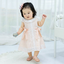 baby girls clothes Lace toddler Dress Kids Summer Children Clothes Princess Cute bow Thin Dress Size 1-5 Years Christmas dresses baby girls summer dresses casual cotton kids bow lace ball gown princess dress children clothes