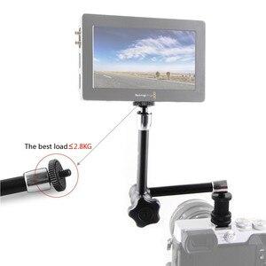 "Image 5 - SmallRig DSLR 11 ""콜드 슈 마운트 및 표준 1/4"" 20 나사 식 스크류 어댑터가있는 관절 식 로제트 암 카메라 매직 암 1498"