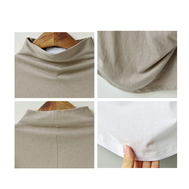 Blusa informal de algodón con manga corta de murciélago para Jocoo Jolee, Camisa lisa de talla grande para mujer, 2020 6