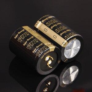 Image 1 - 2 шт., сверхпросвечивающий усилитель NICHICON, 50 в, 4700 мкФ, 35x50 мм, Тип III, 4700 мкФ, 50 в, фильтрующий усилитель, мкФ/50 в, золотые ножки, 4700U