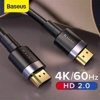 Baseus cavo HDMI 4K HD 2.0 compatibile per Monitor TV PS4 4K Splitter Switch Box Extender 60Hz Video Cabo Cable 4K HD