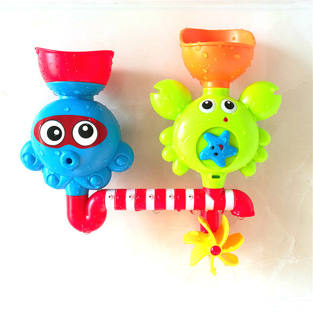 HengGL Baby Crab Bath Toys,2 in 1 Interactive Baby Bath Toys,Suitable For 1-5 Years Old Boys /& Girls