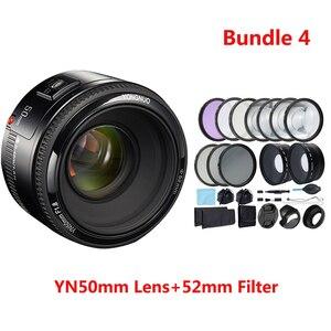 Image 5 - YONGNUO Lens YN50mm f1.8 YN EF 50mm f/1.8 AF Lens YN50 Aperture Auto Focus Lens for Canon EOS 60D 70D 5D2 5D3 600d DSLR Cameras