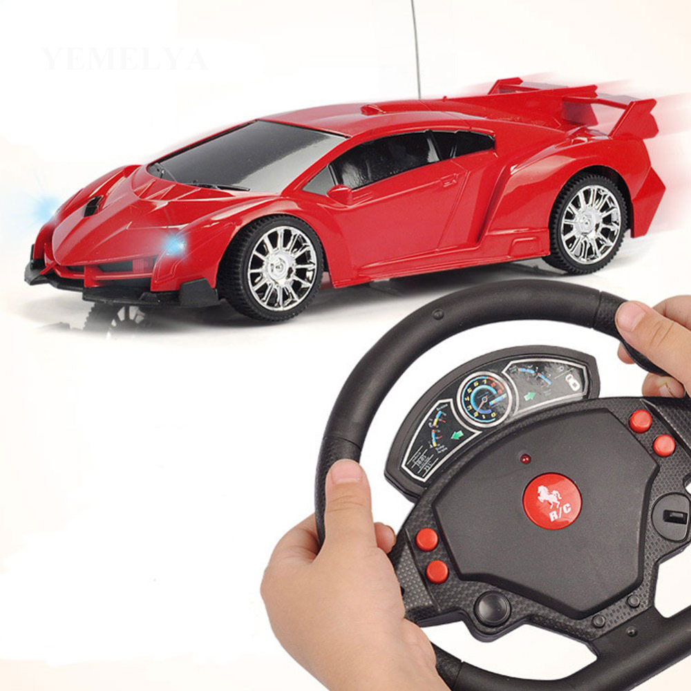 Wireless Red Racing 1:24 Mini RC Cars Drift Machine On The Remote Control Toys Children Boy Gift Small Stunt Steerable Car