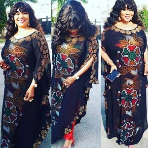 Fashion Abaya Dubai Muslim Dress Rhinestone Turkey Robe Musulman Kaftan Islamic Clothing Turkish Eid Chiffon Clothes DCC255