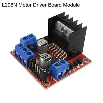 5 PCS L298N Motor Drive Controller Board DC Dual H-Bridge Robot Stepper Motor Control and Drives Module for Arduino Smart Car Po image