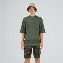 Мужская модная повседневная Молодежная брендовая простая оливковая