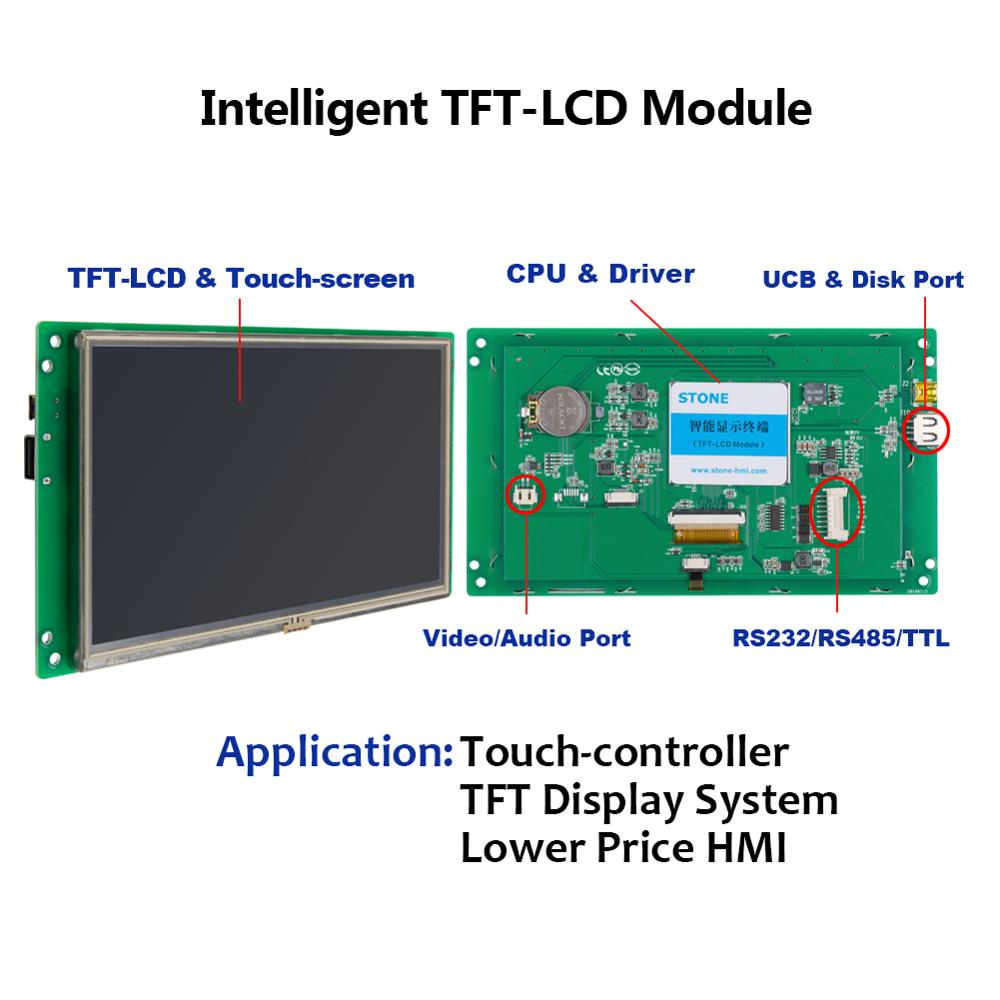 Touch LCD For Function