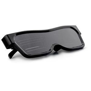 Image 3 - Bluetooth APP contrôle lunettes à LED pour clignotant affichage des Messages, Animation, DJ fête danniversaire cadeau de jouet pour enfants
