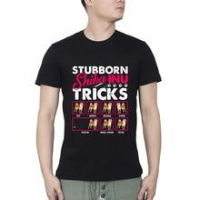 Shiba inu shiba inu cão teimoso truque t camiseta de fitness dos homens t camisa frete grátis masculino tshirts