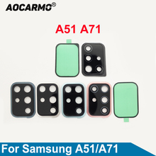 Ring-Adhesive-Sticker Rear-Camera-Lens Samsung Glass Aocarmo Back with Frame-Holder