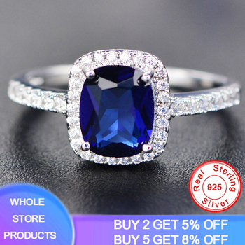 opening design natural blue tanzanite gem ring natural gemstone ring s925 silver trendy triangle snake women party gift jewelry YANHUI New Trendy Aquamarine Amethyst Ring 925 Sterling Silver Gemstone Ring Natural For Jewelry Blue Sapphire Silver Ring Party
