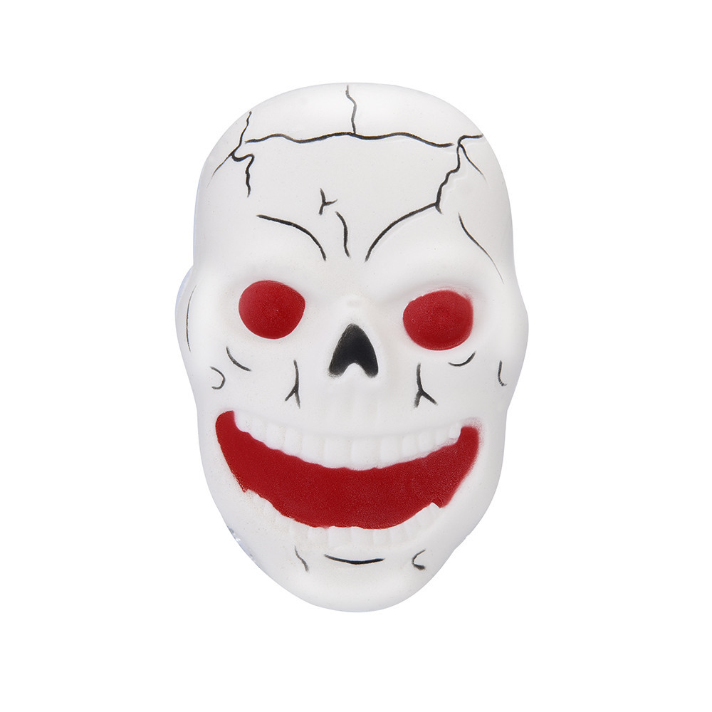 Skull Fun Stress Reliever Decompression Toy Squishy Squishy Stress Reliever Decor Toys Squeeze Kid Adult Toys Gift #B