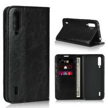 360 Natural Genuine Leather Skin Flip Wallet Book Shockproof Phone Case Cover On For Xiaomi MI 9 Lite 9T Pro Mi9 Mi9t 9lite Mi9Lite 9TPro T Global 6/8 64/128/256 GB Xiomi Light
