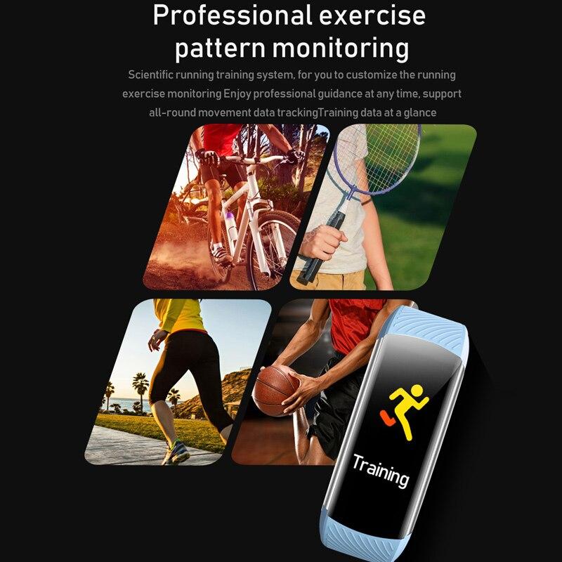 lowest price Smart Watch men M4 Fitness Bracelet Bluetooth Waterproof Heart rate Monitor Smart Watch Women Fitness Tracker SmartWatch
