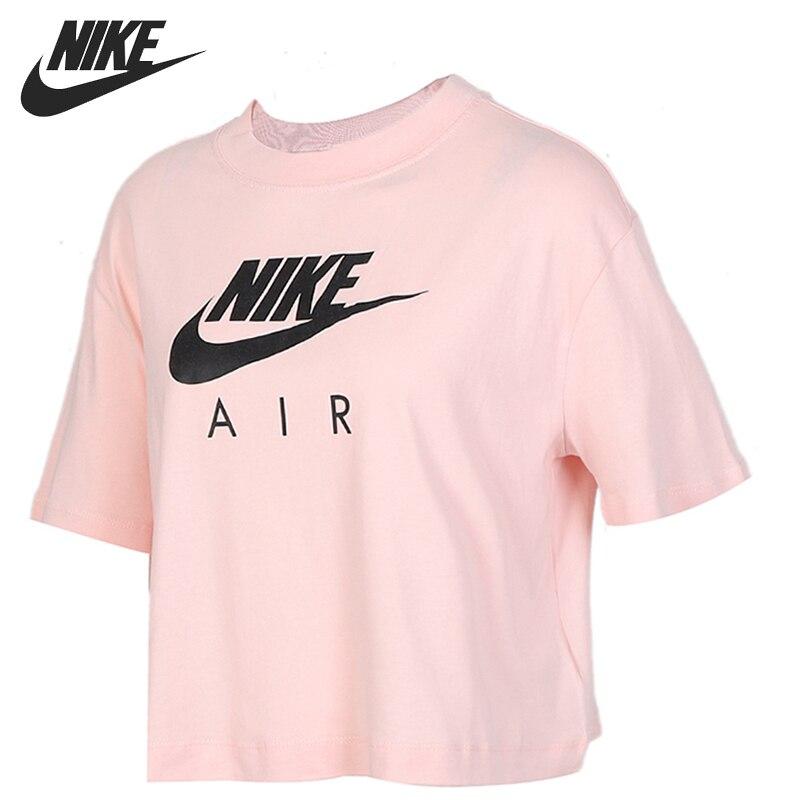 Original New Arrival  NIKE AS W NSW AIR TOP SS Women's  T-shirts Short Sleeve Sportswear