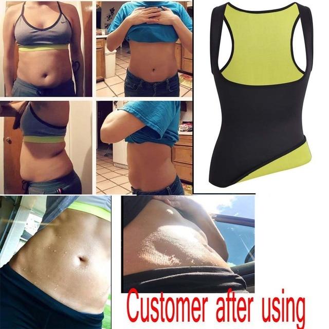 CAIDA Women Thermo Sweat Neoprene Body Shaper Slimming Waist Trainer Cincher Slimming Wraps Product Weight Loss Slimming Belt 3