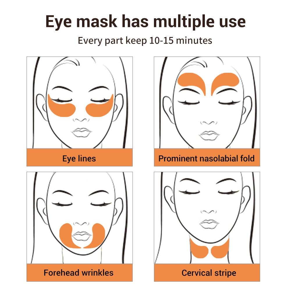 LANBENA Eye Mask Collagen Eye Patch Skin Care Hyaluronic Acid Gel Moisturizing Retinol Anti Aging Remove Dark Circles Eye Bag-4